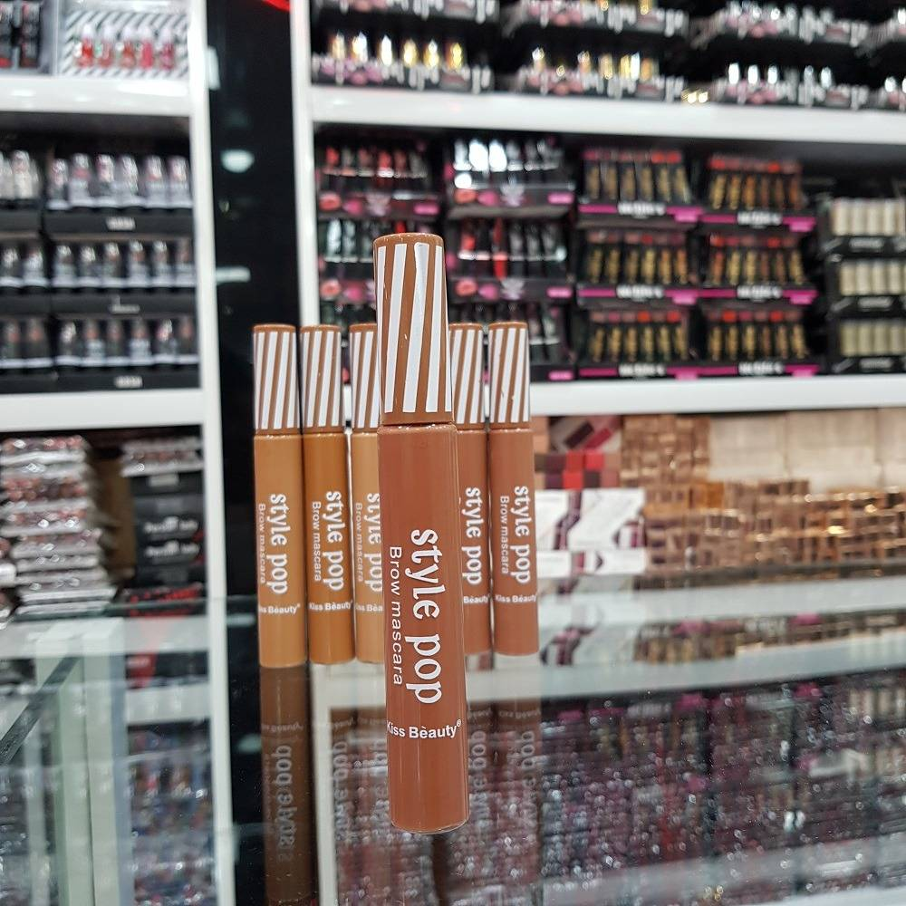 ریمل ابرو کیس بیوتی Kiss Beauty Style POP در 6 رنگ متنوع