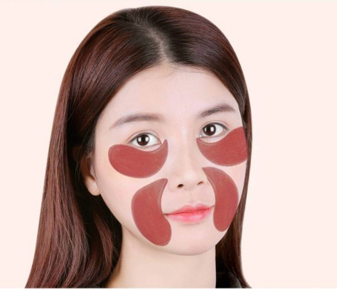 پچ زیر چشم جنسینگ قرمز رفع سیاهی دورچشم